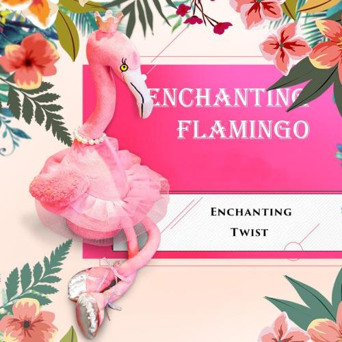 Singing Danced Flamingo Soft Toy