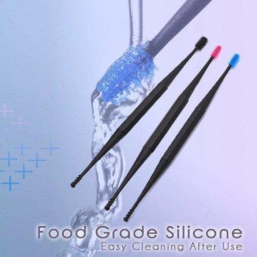 Micro-Bristle Reusable Ear Cleaner