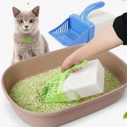 Cat Litter Sifter Scoop System with Extra Waste Bags