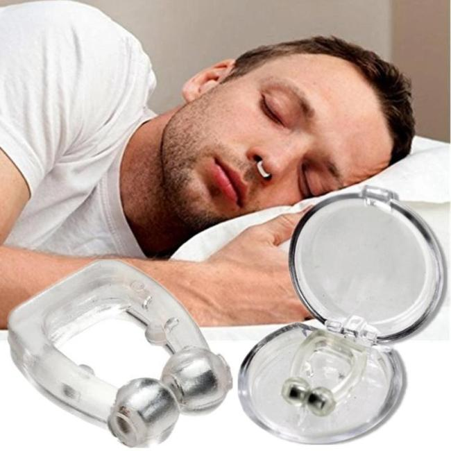 Magnetic Anti-Snore Clip - Sleep Peacefully & Soundlessly