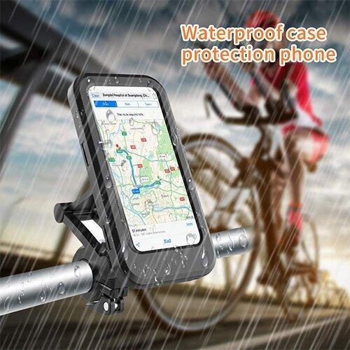 Mobile Phone Bracket Waterproof Bag