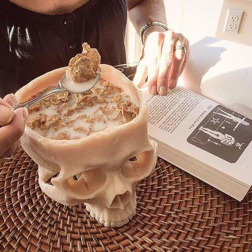 2021 hot sale human skull bowl