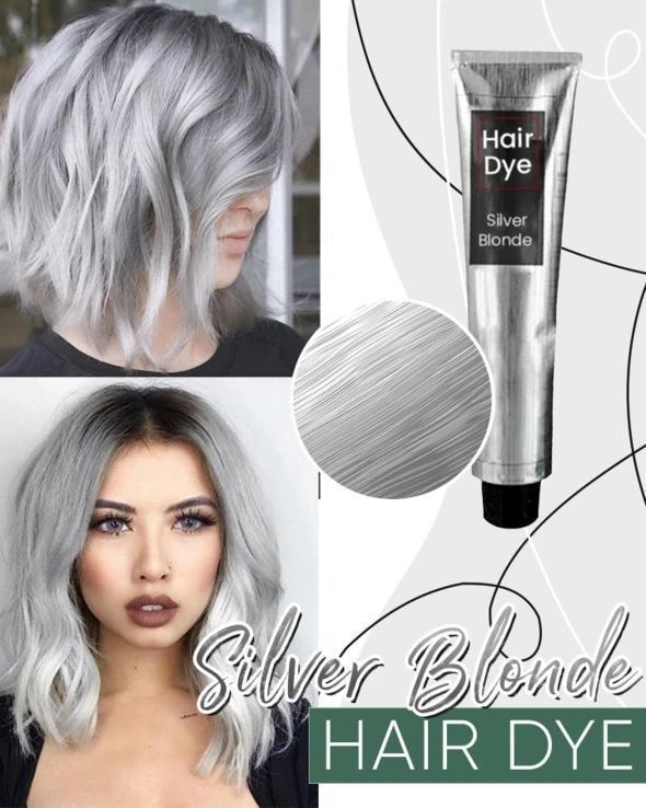 Silver Blonde Hair Dye