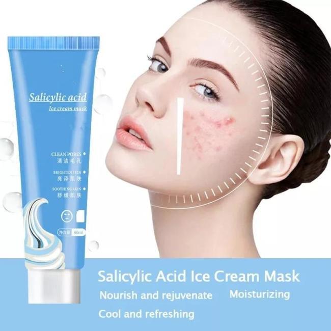 Salicylic Acid Ice Cream Mask