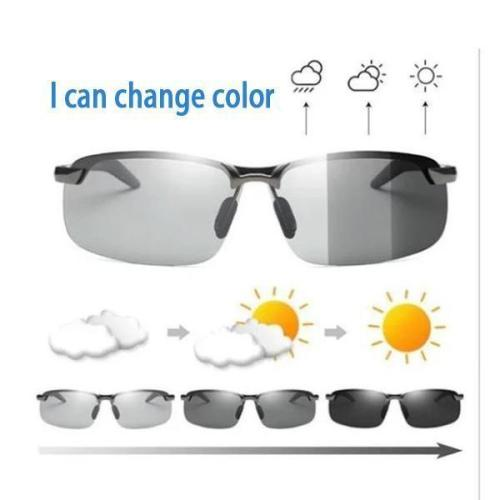 Photochromic Polarized UV400 Sunglasses
