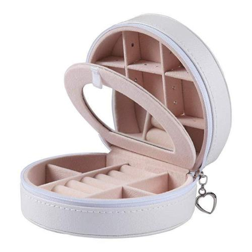 Portable Jewelry Box Mini Simplicity Jewelry Box Small Storage Box Ear Stud Box Ring Bag European Velvet Jewelry Box
