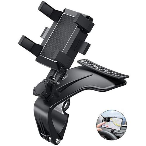 1200 Degree Rotation Universal Car Dashboard Phone Holder