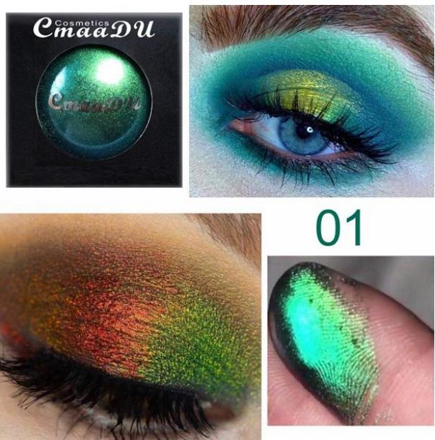 Multi-Chrome Shade Shifting Pigments Eye Shadow