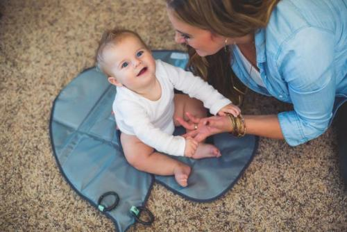 Diaper Clutch Changing Station