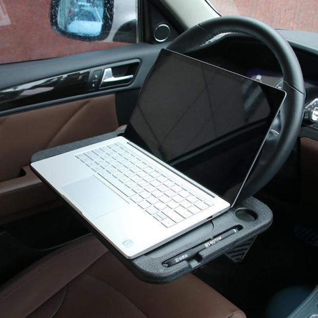 Multi-function Car Rack Tray - adjustable angle