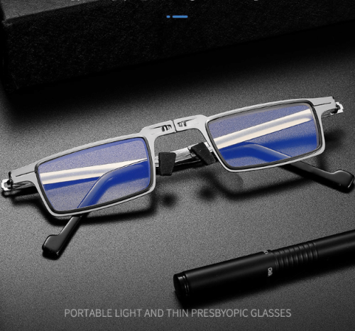 Ultra Lightweight Anti Blue Light Foldable Reading Glasses