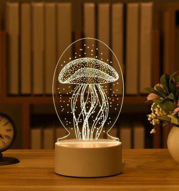 HOME DECOR 3D ILLUSION LAMP