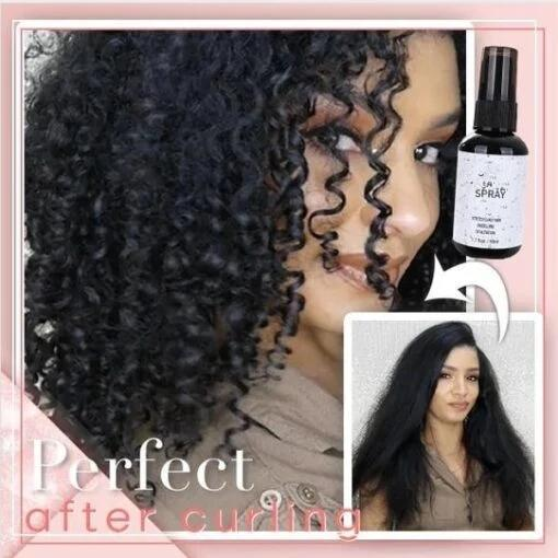 Hair Curling Essence Spray