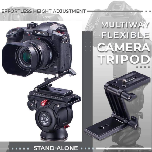 Multiway Flexible Camera Tripod