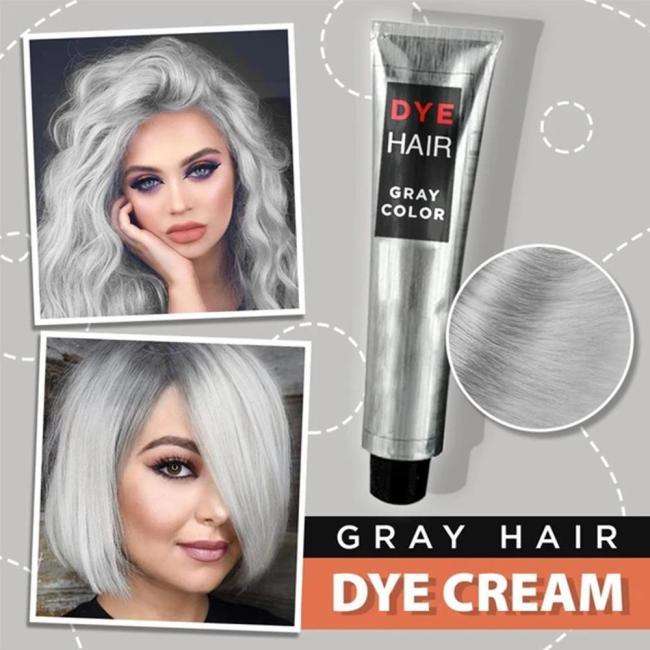 Gray Hair Dye Cream