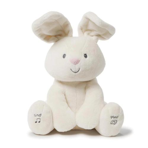 Peek A Boo Plush Bunny Doll