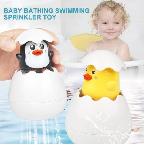Easter Egg Baby Bathing Swimming Sprinkler Toy