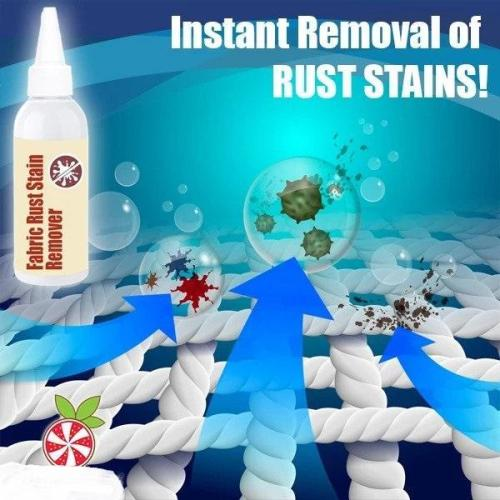 Fabric Rust Stain Remover