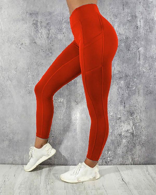 Sports yoga pants, hips and waist, sports leggings