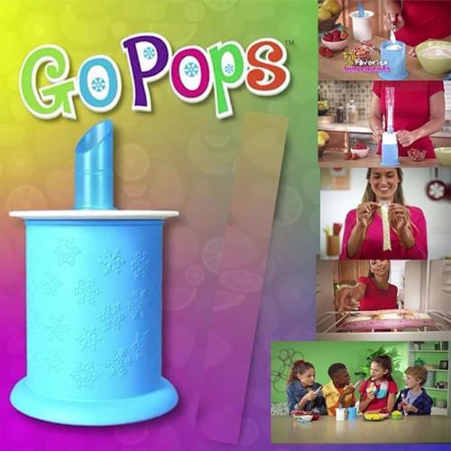 Freeze Pops Maker + Bags