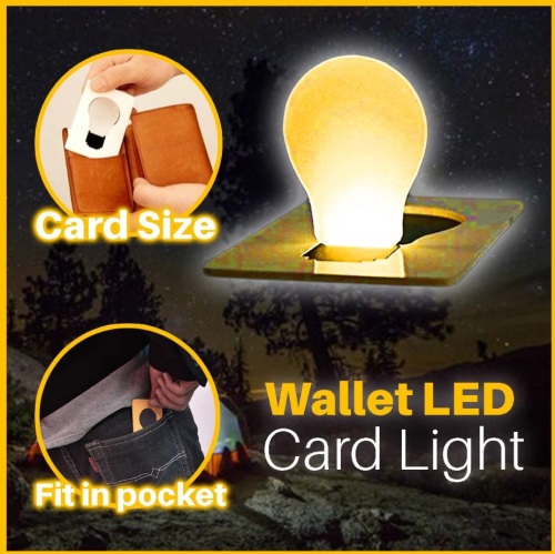 Wallet LED Card Light
