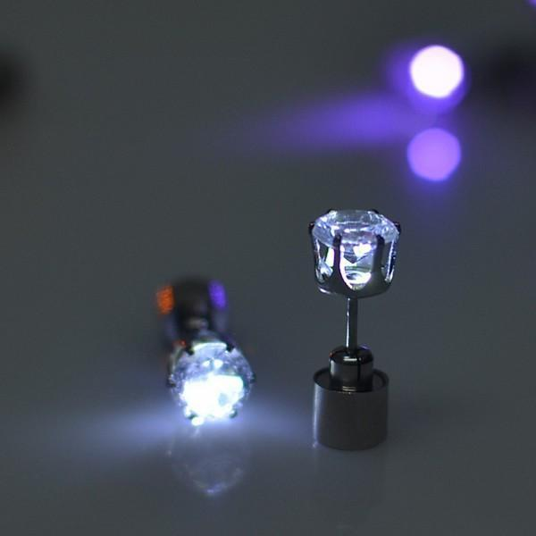 Beautiful LED Earrings For Halloween Outfit