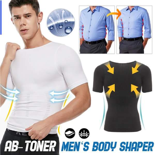 🔥2021 Men's Shaper Slimming Compression T-Shirt