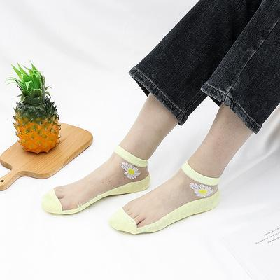 🔥Mother's Day Special🔥🔥Translucent Daisy Socks