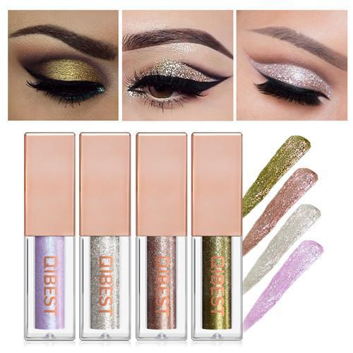 Magnificent Metals Glitter & Glow Liquid Eye Shadow SET/3Color