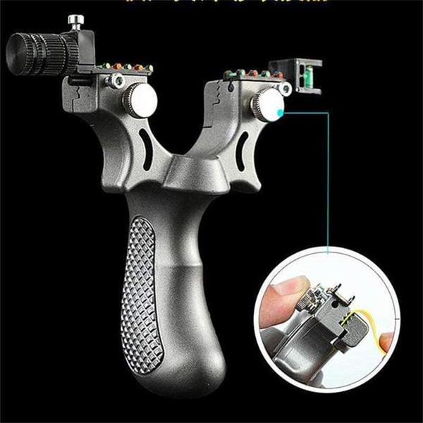 Laser Guided Slingshot