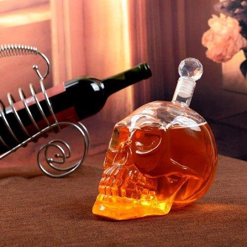 Excluzy Crystal Head Vodka 1000 Ml Skull Bottle Decanter