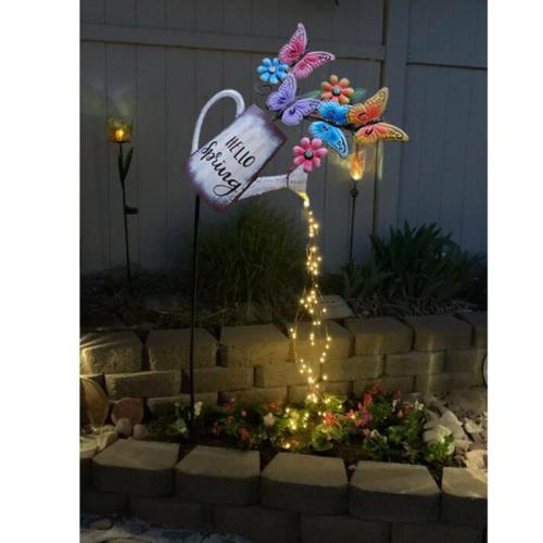 Star Shower Garden Art Light Decoration