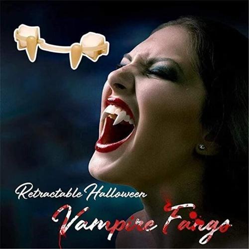 Retractable Halloween Vampire Fangs