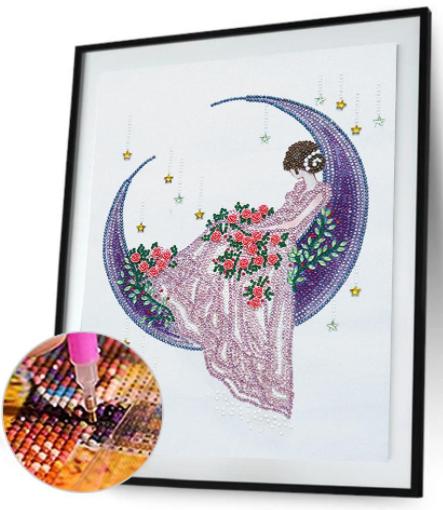 Beauty-Special Diamond Painting-30*40CM