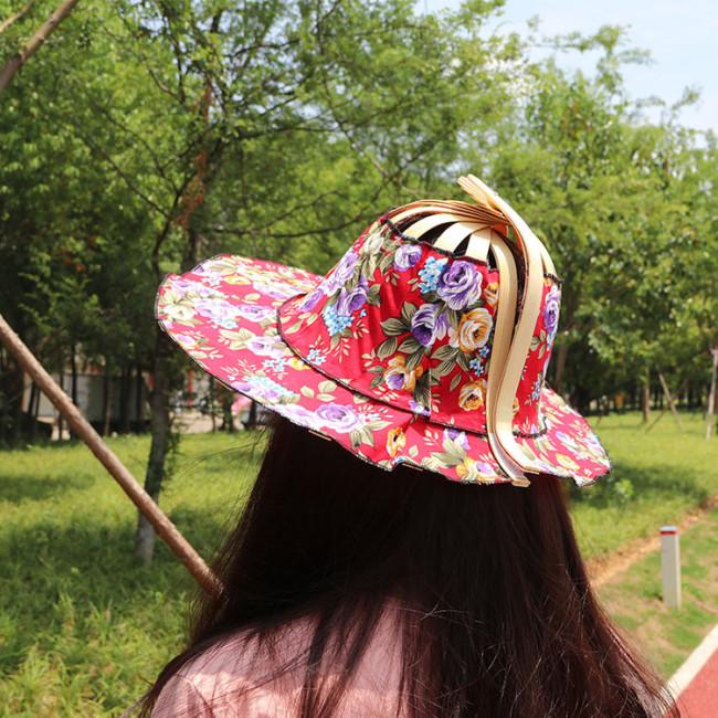 Folding Fan Hat