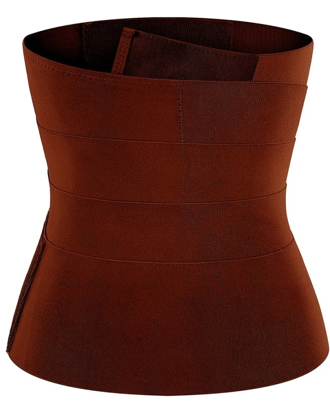 The elastic waistband can be adjusted tightly to tighten the waist and restraint