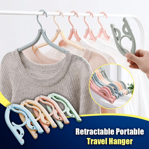 Retractable Portable Travel Hangers