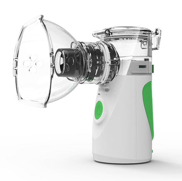 Ultrasonic compression static portable handheld atomizer