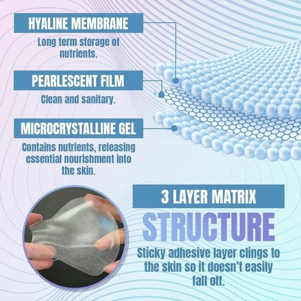 Hyaluronic Acid Microcrystalline Lifting Decree Patch