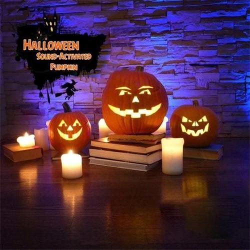 Halloween Hot Sale!Talking Animated Pumpkin with Built-In Projector & Speaker