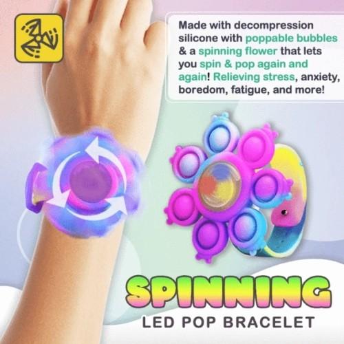 Spinning Pop Bubble Bracelet