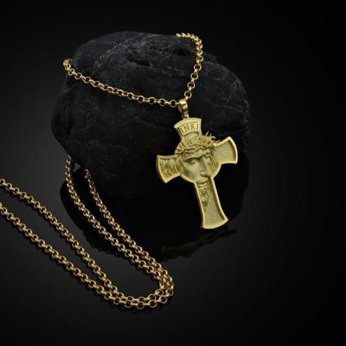 Jesus Cross Necklace