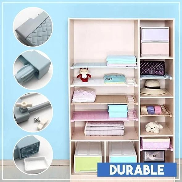 Adjustable Closet Shelf