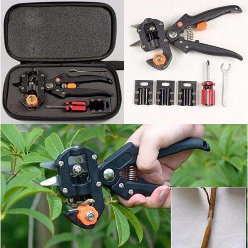 Fruit Tree Pro Pruning Shears Scissor Grafting Cutting Tools Suit