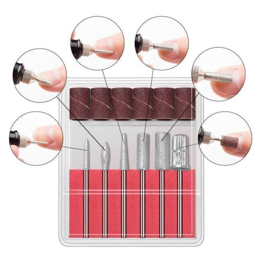 DIY Nail Polishing Drill Set
