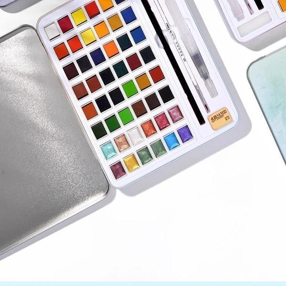 Glitter Watercolor set -12/36/48 Color