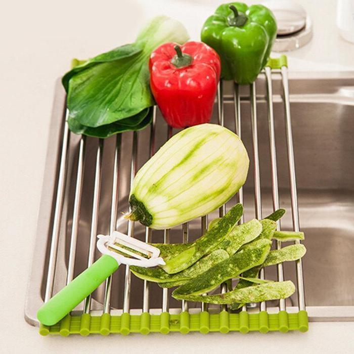 Roll-up Dish Drying Rack