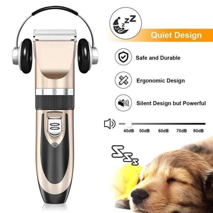 Low Noise Pet Hair Clipper