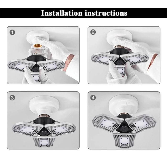 Adjustable LED Ceiling Light