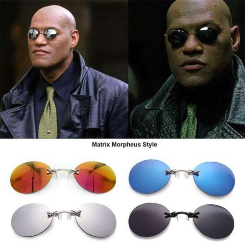 Rimless Clamp Glasses